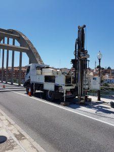 puente Mora d'Ebre sondeos