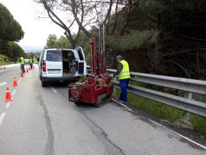 Estudis geotècnics a Cerdanyola del Vallès i Bellaterra - Vialitat