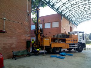 Estudis geotècnics a Castelldefels