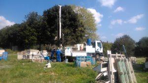 Estudi geotècnic pel projecte de construcció de la variant de Sant Feliu de Codines - C-59