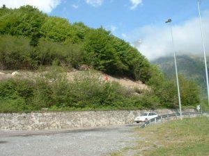 estabilitat de talussos túnel de Vielha