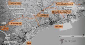 Geotècnia bàsica i geologia de camp pel projecte de construcció vial - Blanes - Tossa