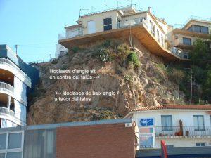Estudi geotècnic sobre l'estabilitat dels talussos de la Punta del Morro Curt - Blanes
